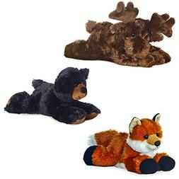 Aurora Maxa Moose Sullivan Black Bear Foxie Fox Mini Flopsie