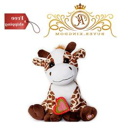 MBHB -Giraffe Stuffed Animal w/ 20 sec Voice Recorder - Gira