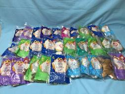 Ty Mc Donald's Beanie Babies Mixed Lot Of 30 Brand New Stu