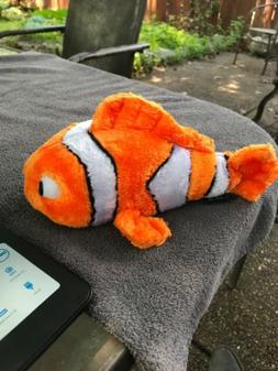The Petting Zoo Medium Sized Orange Plush Stuffed Sea Animal