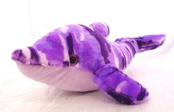The Petting Zoo Medium Sized Purple Plush Stuffed Sea Animal