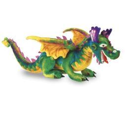 """Melissa and & Doug 40"""" Dragon Medieval Large Plush Animal St"""