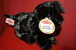 "Melissa & Doug BENSON BLACK LAB PUPPY DOG 10"" Plush STUFFED"