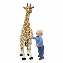 Melissa & Doug Giant Giraffe Lifelike Stuffed Animal over 4