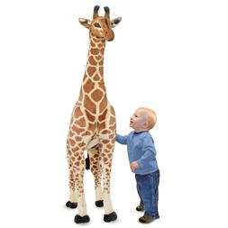 Melissa & Doug Giant Giraffe - Lifelike Stuffed Animal
