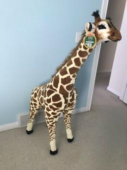 Melissa and Doug Giant Giraffe Plush Animal Stuffed Toy Kids