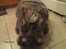 MELISSA & DOUG GIANT HIPPOPOTAMUS PLUSH NEW WITH TAG OVER 2