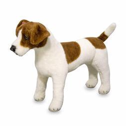 Melissa & Doug Giant Jack Russell Terrier - Lifelike Stuffed