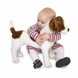Melissa & Doug Giant Jack Russell Terrier, Lifelike Stuffed