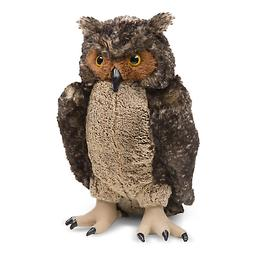 Melissa & Doug Giant Owl - Lifelike Stuffed Animal