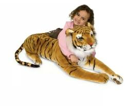 Melissa & Doug Giant Plush Siberian Tiger Stuffed Animal Kid