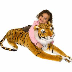 Melissa & Doug Giant Stuffed Plush Tiger