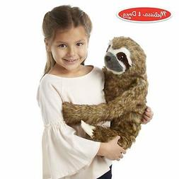 Melissa & Doug Lifelike Plush Sloth Stuffed Animal