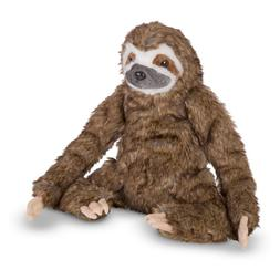Melissa & Doug Lifelike Plush Sloth Stuffed Animal