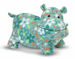 MELISSA AND DOUG PLUSH KATIE THE HIPPO FACTORY NEW 14 INCHES