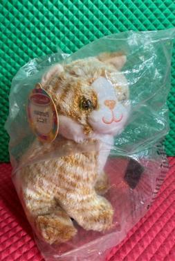 Melissa & Doug Pumpkin Tabby Cat Plush Stuffed Animal #7527