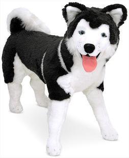 melissa and doug toys Husky Life Like Large Stuffed Dog