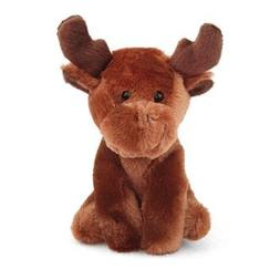 "6"" Melly the Moose Stuffed Animal Beanbag Lil' Buddies Toy b"