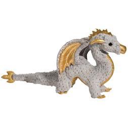Douglas Cuddle Toys Midas Gold Fleck Dragon 22 inch - Stuffe