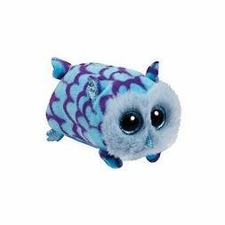 Ty Mimi Blue Owl - Teeny 4 inch - Stuffed Animal