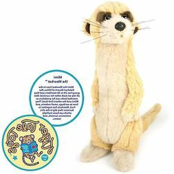 Mimi the Meerkat   12 Inch Stuffed Animal Plush   By Tiger T