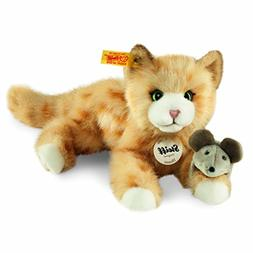 Red Steiff Mimmi Tabby Catz Plush