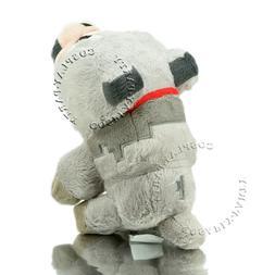 "Minecraft Tamed Wolf Plush Doll 9"" Stuffed Animals Soft Cudd"