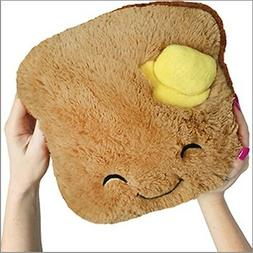 Squishable 9 inch Mini Comfort Food Toast Plush - Brown