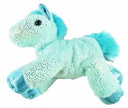 """Aurora 7"""" Mini Flopsie Fantasy Glitter Pony - Aqua Blue"""