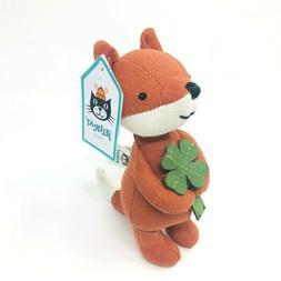 Jellycat Mini Messenger Fox Stuffed Animal, 6.5 inches