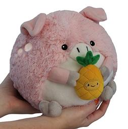 Squishable / Mini Pig Holding a Pineapple - 7""