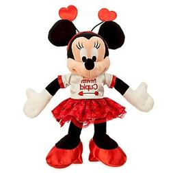 Disney Minnie Mouse ''I'm With Cupid'' Plush - Valentine's D