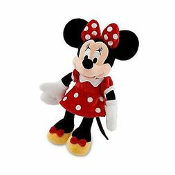 Disneys Minnie Mouse Plush - Red Dress -- 19 H