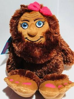 "MISS BIGFOOT SHESQUATCH 10"" Stuffed Animal House plush SASQU"