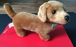 "Miyoni DACHSHUND 8"" Plush Red Brown Dog Stuffed Animal Auror"