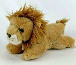 """Miyoni Aurora Furry Lion Plush Stuffed Animal Toy 10"""" NEW Or"""
