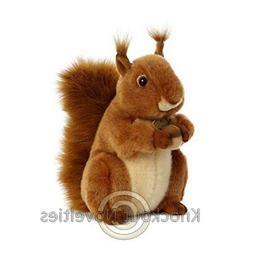 8 Inch Miyoni Red Squirrel Plush Stuffed Animal by Aurora