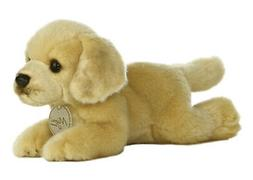 8 Inch Miyoni Yellow Labrador Dog Plush Stuffed Animal by Au