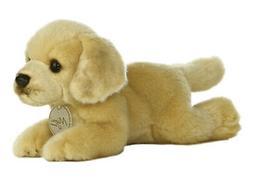 8 Inch Miyoni Yellow Labrador Dog Plush Stuffed Animal by Au