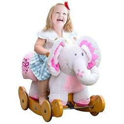 Labebe Modern Plush Rocking Horse with Padded Animal for Lit