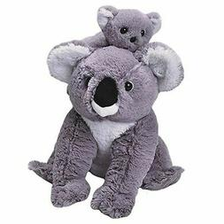 "Wild Republic Mom and Baby Koala Plush Toy 12"" H"