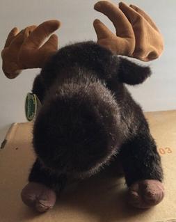 """Moose Plush Stuffed Animal Bearington Collection 15"""" Marshal"""