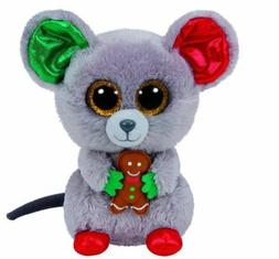 "Mouse Cake 6"" Ty Beanie Boos Puppy Glitter Big Eyes Plush St"