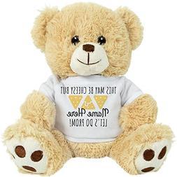 FUNNYSHIRTS.ORG Nacho Cheesy Promposal: 8 Inch Teddy Bear St
