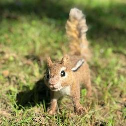Needle felted Chipmunk Realistic Chipmunk Life Size Squirrel