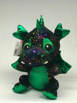 "New 16"" Black Dragon Plush Paradise Toy Factory Licensed"
