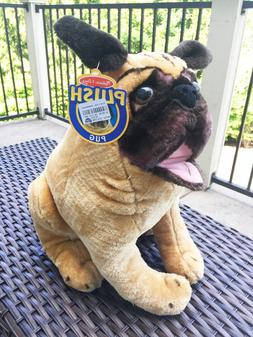 "NEW 20"" MELISSA & DOUG PLUSH PUG STUFFED ANIMAL toy figure f"