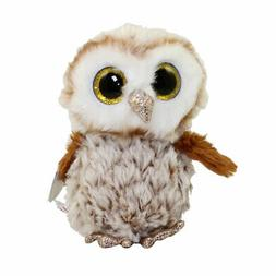 """New! 2019 Ty Beanie Boos PERCY the Owl 6"""""""