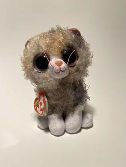 """New! 2019 Ty Beanie Boos SCRAPPY the Kitty Cat  6"""" IN HAND"""