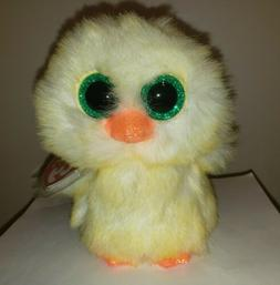 """New! 2020 Ty Beanie Boos LEMON DROP Easter Baby Chick 6"""" nwt"""